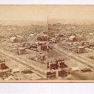 Stereoview WH Jackson #139 Panorama City of Denver Colorado Birds Eye View West
