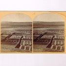 Stereoview Wheeler Expedition 1873 #18 O'Sullivan Gardens Zuni Indian Pueblo