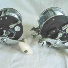 Vintage Set 2 Ocean City Fishing Reel 112D 165 Trolling True Temper Decor