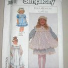 Gunne Sax McClintock Child Dress Pinafore 8881 Pattern 3 Uncut Vintage 2 Length