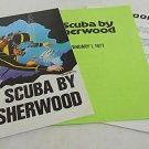 Vintage Sherwood Catalog 77 Dealer Retail Price Regulator Scuba Valve Manifold
