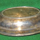 Vintage Antique Art Deco York Rogers Silver Covered Serving Dish Lid Handled
