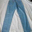 Jag Jeans Vintage 70s NOS Deadstock Pale Blue Acid Light Wash Skinny  25 S