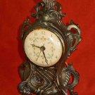 Antique Mantel Clock Electric Ingraham Vintage Fancy Face HN-7 Regency Classical