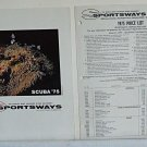 Vintage 1975 Sportsways Scuba Dive Catalog Regulator Mask Knife Wet Suit Price
