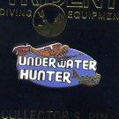 Underwater Hunter Pin Brooch Jewelry Marine Spearfisherman Vintage Speargun NOS