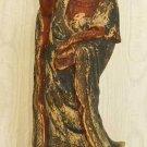 Female Antique Decor Asian Wood Carving Polychrome Huge Statue Sculpture Goddess