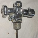 Vintage Healthways 3/4 in Scuba Dive Tank Reserve J Valve w HP Port All Metal
