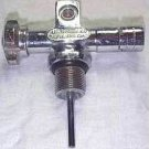 Early Vintage USD Scuba J Valve All Metal 3/4 inch oring 3000 psi Aluminum 80