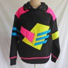 Vintage Sweater Jacket Head Ski Tyrolia Deadstock Geometric Lined Wool 4/6 S