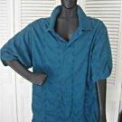 Authentic Vintage Burberry Polo Shirt Classic Golf Preppy Cotton Mens Textured M