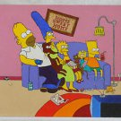 Vintage Folk Art Outsider Painting The Simpsons at Home Tiny Mouse Dog Treats TV