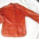Motorcycle Biker Vintage 60s Leather Jacket Alan Cherry Couture  Moto Mod