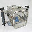 Vintage Ikelite Underwater Housing Camcorder Heavy Duty Clear Plexiglass