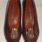 Vintage Martinez Valero Marcasite Effect Art Deco Style Clips Cone Pumps Pointy