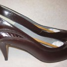 Pappagallo Wavy Dune Pumps Stiletto Leather Snakeskin 8.5 New old Stock  in Box