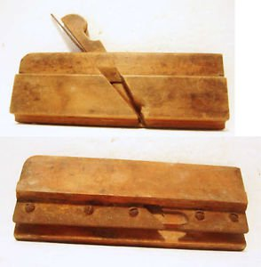 2 Wood Plane Auburn Tool Co NY # 5/16 Sandusky Tool CO Ohio # 99 1 Antique