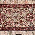 """Vintage Oriental Persian Rug Carpet Long Runner 31"""" x 96"""" Explosion of Flowers"""