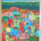 Aergo Lamour Vintage Haitian Painting Haiti Jackmel Expressive Face Coconut Sale