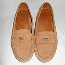 Coach Nicola Mocs Driving Loafers Drivers Slip Ons Soft Slouch Leather 10B Suede