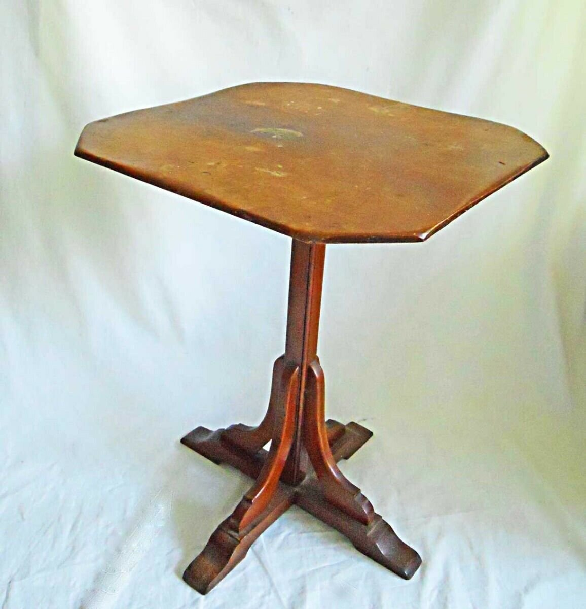 Vintage Antique Table Candlestand Hale Arlington Vermont Country Furniture