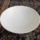 "Rosenthal China Lotus White Salad Bowl Plate Germany Dish 5"" Dia"