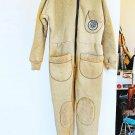 Vintage Seatec Dry Suit Warm Thermal Underwear Full Body Suit Vest Booties M L