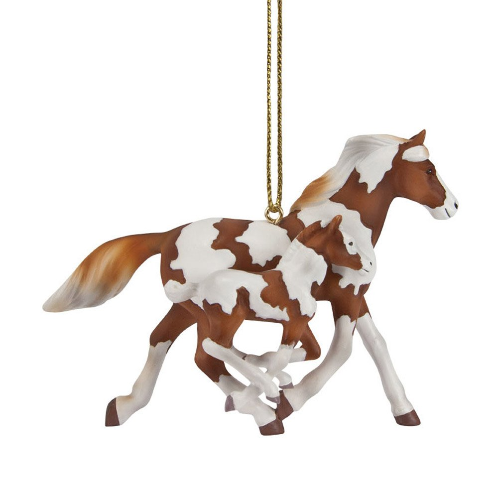 Trail of Painted Ponies 2014 Painted Harmony Paint Horse and Colt Ornament