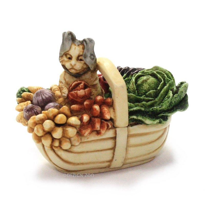 Harmony Kingdom Bewear The Hare - Cat with Sock Ears Treasure Jest