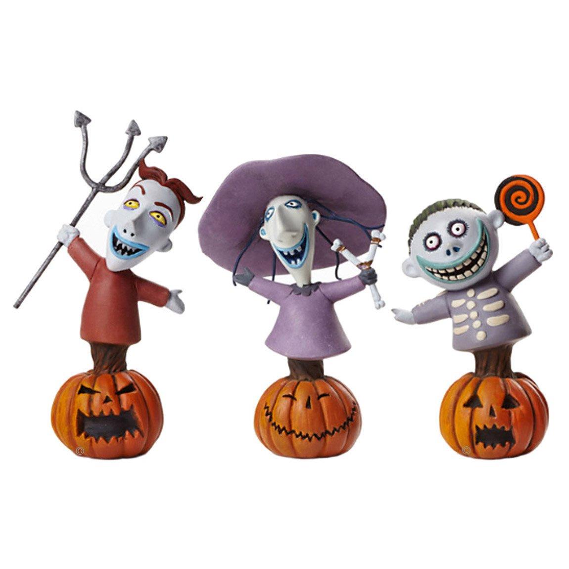 Grand Jester Disney NBC Lock, Shock and Barrel Figurines Set of 3 - Enesco