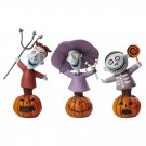 Grand Jester Disney NBC Lock, Shock and Barrel Figurines Set of 3 - Enesco
