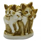 Harmony Kingdom TJCA3 Furball Cat Figurine Box - Retired