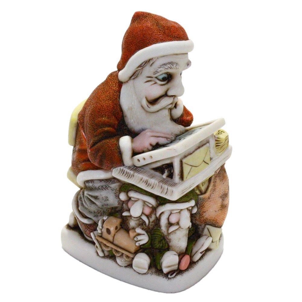 Harmony Kingdom Buy 'N' Cell Santa Figurine Box