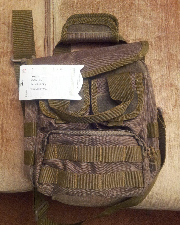 Military bag square shape