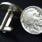 Cuff links 1930 s Vintage Buffalo Indian Nickel coin handmade Men`s cufflinks