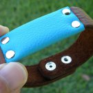 Handmade leather cuff Bracelet Authentic Buffalo Leather  Indian style