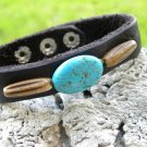Customize Handmade Cuff Bracelet American Buffalo Leather,wristband Indian stle