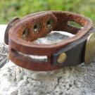 Custumized your wrist Real Indian head penny Genuine Buffalo Leather Bracelet