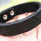 Handmade Bracelets  American Genuine Buffalo Leather cuff wristband  made by mg
