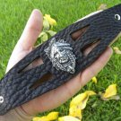 Handmade Genuine Buffalo Leather Bracelet Indian Head cuff western  style