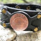 Handmade your wrist Bracelet American Bison RUSSIA 2 Kopecks 1885 * AUTHENTIC