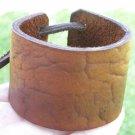 Bracelet  Buffalo Leather wristband Handmade Adjustable Indian style no metal