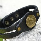 Handmade  Bracelet Buffalo Leather Jewish  bracelet no stone mg