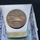 Aztec Pyramid Mexican Coin 20 centavos Money clip Double side Stainles Steel