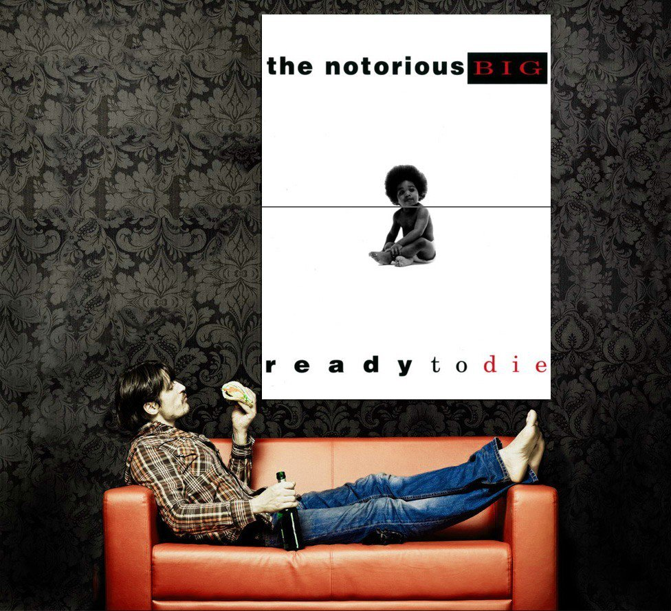 The Notorious B I G Ready To Die Cover Kid Rap Music Huge 47x35 POSTER