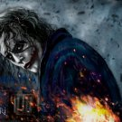 Heath Ledger Joker Dark Knight Art 16x12 Print Poster