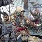 Assassin S Creed 4 Black Flag Game Art 16x12 Print Poster