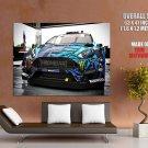 Ford Fiesta Car Ken Block Huge Giant Print Poster