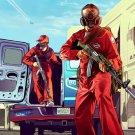 Grand Theft Auto V GTA 5 Game Art 16x12 Print Poster