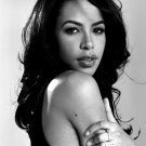 Aaliyah Pop Hip Hop Music Singer Portrait BW 24x18 Print Poster